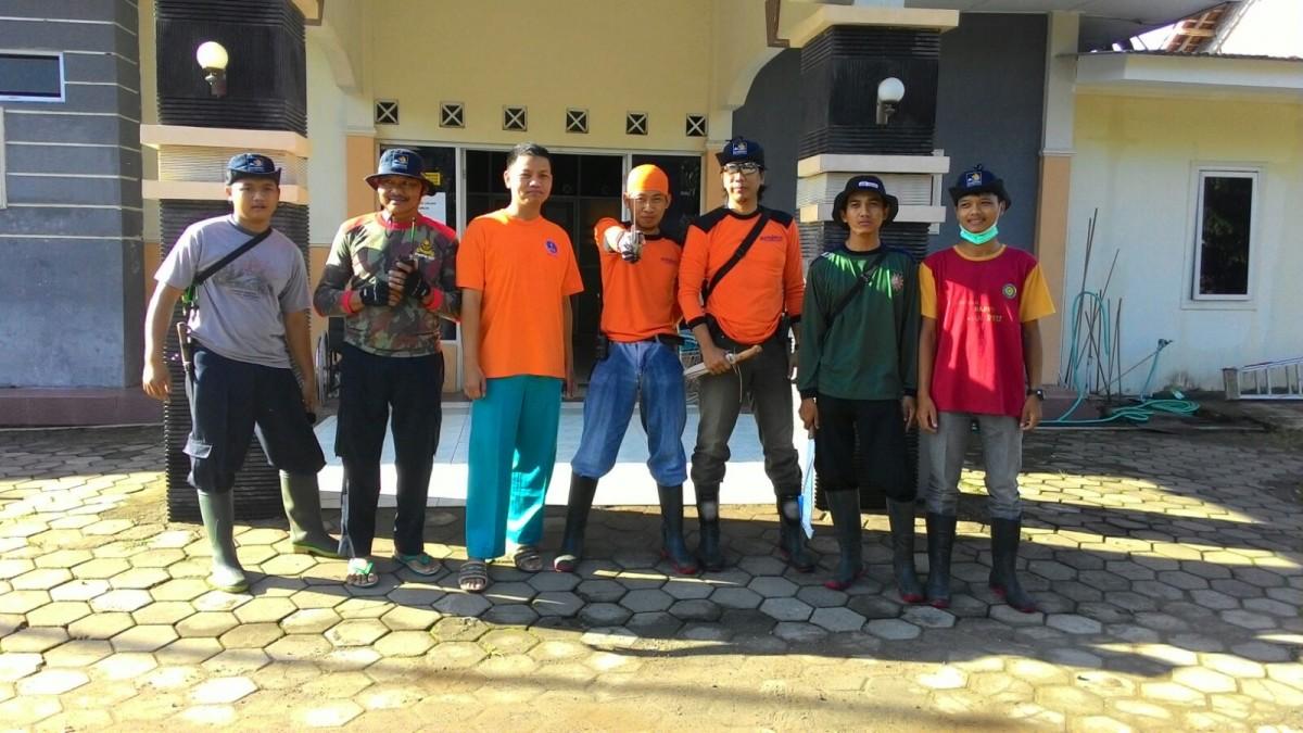 PKU Muhammadiyah Wonosari Evakuasi Bencana di Dusun Kemorosari II